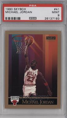 1990-91 Skybox - [Base] #41 - Michael Jordan [PSA9]