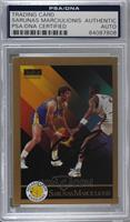 Sarunas Marciulionis [PSA/DNA Certified Encased]
