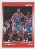 Derrick Coleman Ad Card
