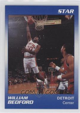 1990-91 Star Home Respiratory Health Care, Inc. Detroit Pistons - [Base] #2 - William Bedford