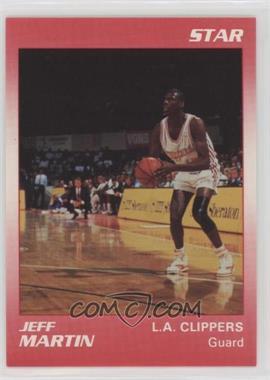 1990-91 Star Kudos Los Angeles Clippers - [Base] #JEMA - Jeff Martin