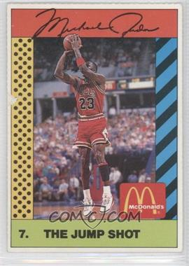 1990 McDonald's Sports Illustrated for Kids Sports Tips - Michael Jordan #7 - Michael Jordan