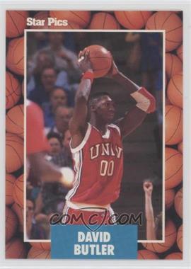 1990 Star Pics - [Base] #64 - David Butler