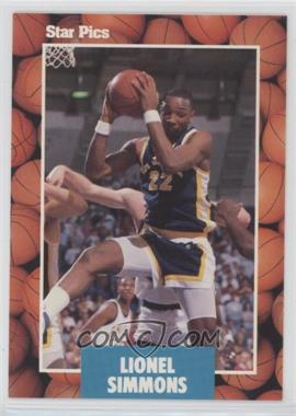 1990 Star Pics - [Base] #66 - Lionel Simmons