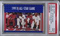 Michael Jordan, Joe Dumars, Patrick Ewing, Bernard King, Charles Barkley [PSA&n…