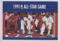 Michael Jordan, Joe Dumars, Patrick Ewing, Bernard King, Charles Barkley