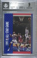 Charles Barkley, Michael Jordan, Magic Johnson, Chris Mullin [BGS 9 M…
