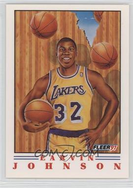 1991-92 Fleer - Pro Vision #6 - Magic Johnson