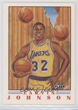 1991-92 Fleer - Pro Vision #6 - Magic Johnson