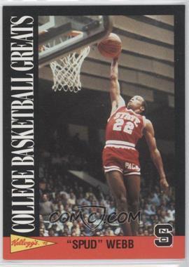 1991-92 Kellogg's College Basketball Greats - [Base] #15 - Spud Webb