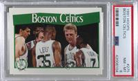 Boston Celtics Team [PSA8NM‑MT]