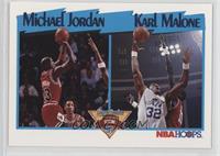 Michael Jordan, Karl Malone