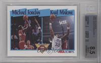 Michael Jordan, Karl Malone [BGS8.5NM‑MT+]