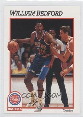 1991-92 NBA Hoops - [Base] #360 - William Bedford