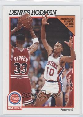 1991-92 NBA Hoops - [Base] #64 - Dennis Rodman