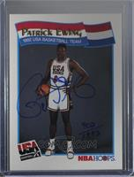 Patrick Ewing [PSA/DNA Certified COA Sticker]