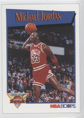 1991-92 NBA Hoops - Slam Dunk Champion #IV - Michael Jordan