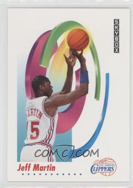 1991-92 Skybox - [Base] #128 - Jeff Martin