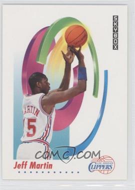 1991-92 Skybox - [Base] #128 - Jeff Martin