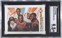 Michael Jordan, Scottie Pippen, Horace Grant, John Paxson, Bill Cartwright [SGC…