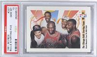 The Chicago Bulls Starting Team (Michael Jordan, Scottie Pippen, Horace Grant, …