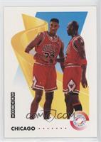 Chicago Bulls Team (Michael Jordan, Scottie Pippen)