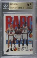 Team USA (Chris Mullin, Charles Barkley, David Robinson) [BGS9.5GEM…
