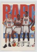 Team USA (Chris Mullin, Charles Barkley, David Robinson)