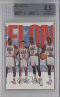 Team USA (Michael Jordan, John Stockton, Karl Malone, Magic Johnson) [BGS…