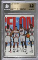 Team USA (Michael Jordan, John Stockton, Karl Malone, Magic Johnson) [BGS …