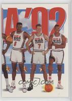 Team USA (Patrick Ewing, Larry Bird, Scottie Pippen)