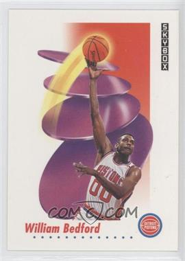 1991-92 Skybox - [Base] #79 - William Bedford
