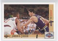 Kevin Johnson, John Stockton