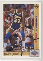 Magic Johnson, Michael Jordan [Noted]