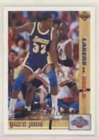 Magic Johnson, Michael Jordan