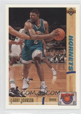 1991-92 Upper Deck - Rookie Standouts #R26 - Larry Johnson