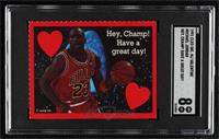Michael Jordan (Hey, Champ! Have a Great Day!) [SGC8NM/Mt]