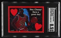Michael Jordan (Hey, Champ! Have a Great Day!) [SGC8.5NM/Mt+]