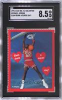 Michael Jordan (Slam Dunk a Super Day!) [SGC8.5NM/Mt+]