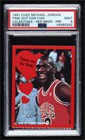 Michael Jordan (Time out for fun!) [PSA9MINT]