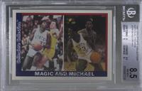 Magic Johnson, Michael Jordan [BGS8.5NM‑MT+]