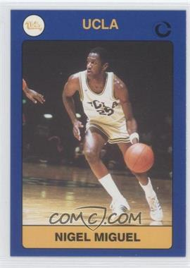 1991 Collegiate Collection UCLA - [Base] #95 - Nigel Miguel