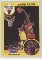 Michael Jordan (red uniform, shooting)
