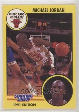 1991 Kenner Starting Lineup - [Base] #MIJO.2 - Michael Jordan (dribbling)
