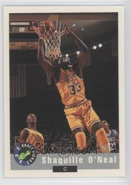 1992-93 Classic Draft Picks Promos - [Base] #1 - Shaquille O'Neal /10000