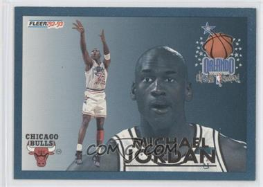 1992-93 Fleer - All-Stars #6 - Michael Jordan
