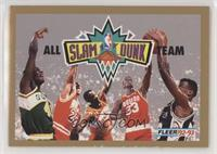 Shawn Kemp, Michael Jordan, Stacey Augmon, Otis Thorpe, David Robinson