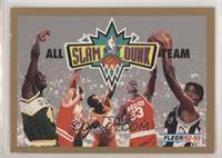 Shawn Kemp, Michael Jordan, Stacey Augmon, Otis Thorpe, David Robinson [EX…
