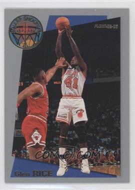 1992-93 Fleer - Sharpshooters #5 - Glen Rice