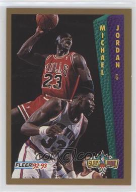 1992-93 Fleer Tony's Pizza - [Base] #MIJO - Michael Jordan